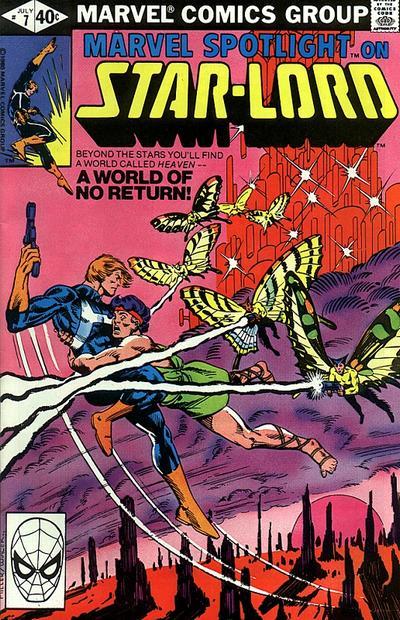 Cover for Marvel Spotlight (Marvel, 1979 series) #7 [Direct]