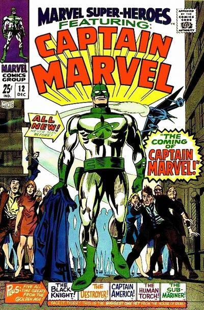 Cover for Marvel Super-Heroes (Marvel, 1967 series) #12
