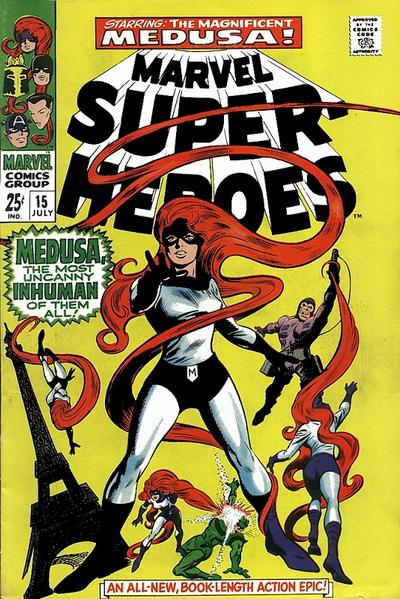 Cover for Marvel Super-Heroes (Marvel, 1967 series) #15