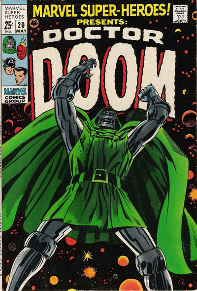 Cover for Marvel Super-Heroes (Marvel, 1967 series) #20