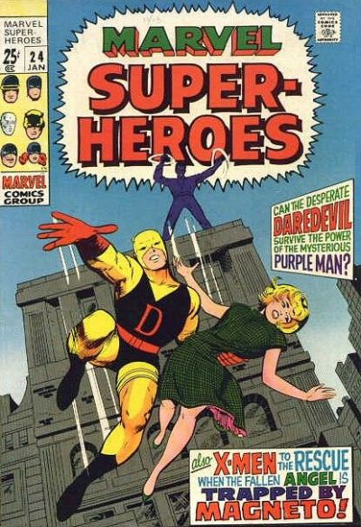 Cover for Marvel Super-Heroes (Marvel, 1967 series) #24
