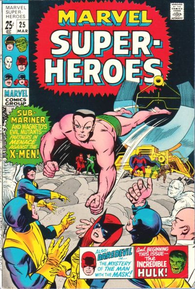 Cover for Marvel Super-Heroes (Marvel, 1967 series) #25