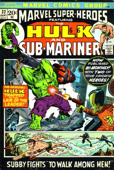 Cover for Marvel Super-Heroes (Marvel, 1967 series) #32