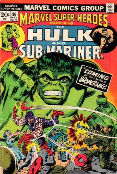 Cover for Marvel Super-Heroes (Marvel, 1967 series) #36