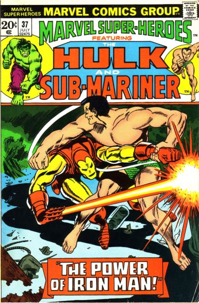 Cover for Marvel Super-Heroes (Marvel, 1967 series) #37