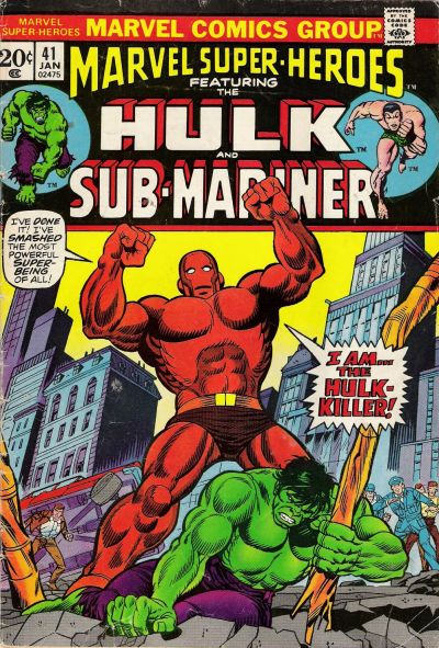 Cover for Marvel Super-Heroes (Marvel, 1967 series) #41