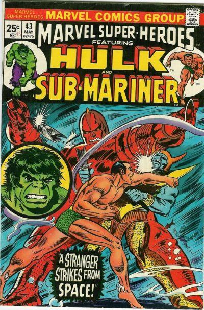 Cover for Marvel Super-Heroes (Marvel, 1967 series) #43
