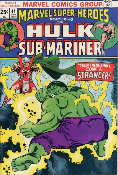 Cover for Marvel Super-Heroes (Marvel, 1967 series) #44