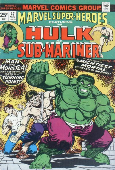 Cover for Marvel Super-Heroes (Marvel, 1967 series) #47