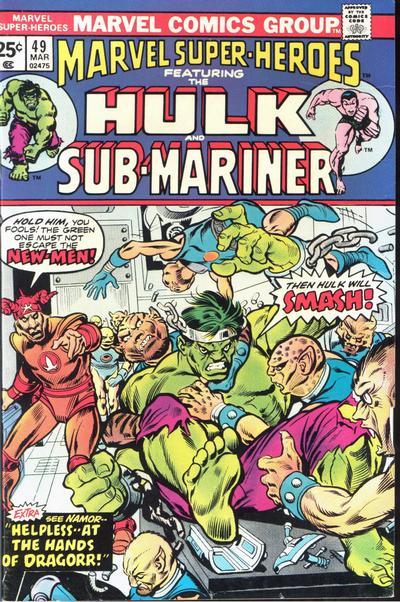 Cover for Marvel Super-Heroes (Marvel, 1967 series) #49