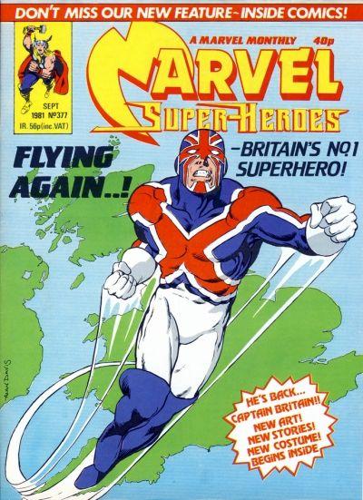 Cover for Marvel Superheroes [Marvel Super-Heroes] (Marvel UK, 1979 series) #377