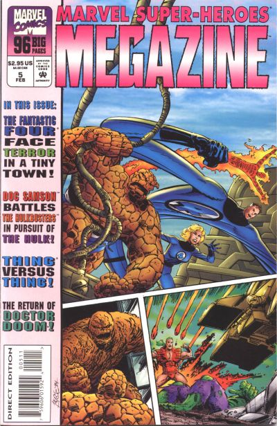 Cover for Marvel Super-Heroes Megazine (Marvel, 1994 series) #5