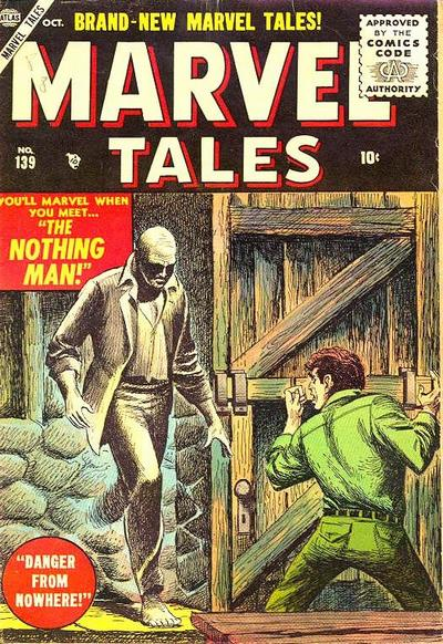 Cover for Marvel Tales (Marvel, 1949 series) #139