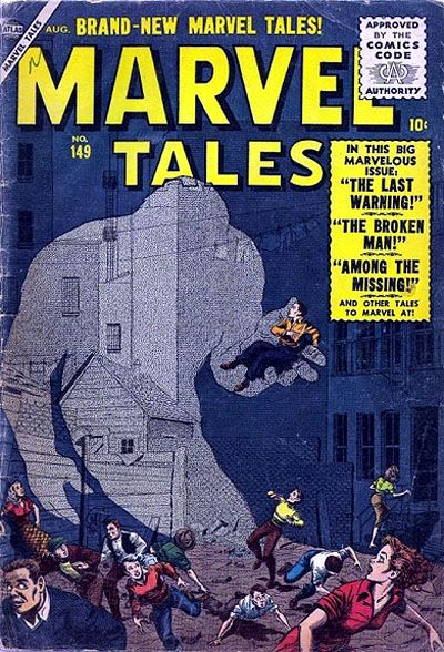Cover for Marvel Tales (Marvel, 1949 series) #149