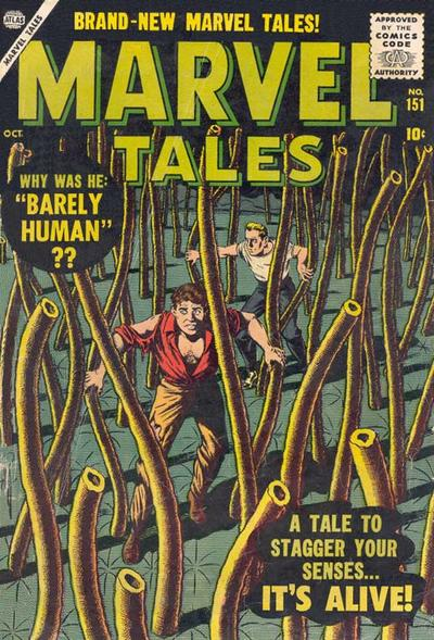Cover for Marvel Tales (Marvel, 1949 series) #151