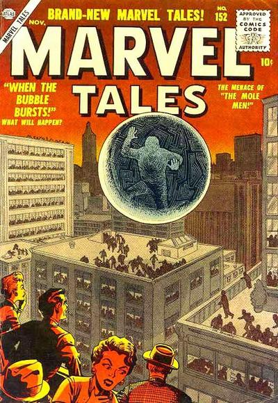 Cover for Marvel Tales (Marvel, 1949 series) #152