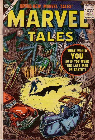 Cover for Marvel Tales (Marvel, 1949 series) #153