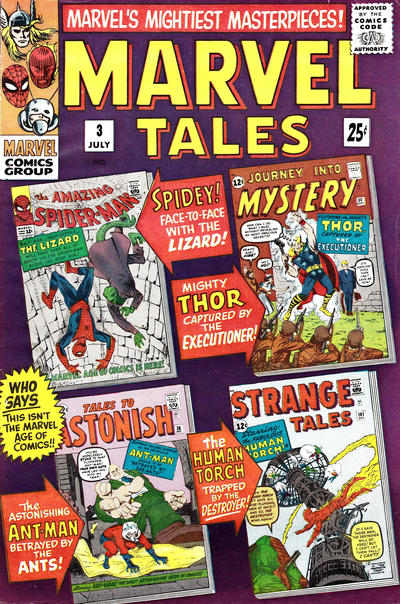 Cover for Marvel Tales (Marvel, 1966 series) #3
