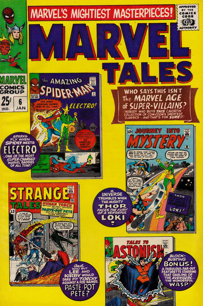 Cover for Marvel Tales (Marvel, 1966 series) #6