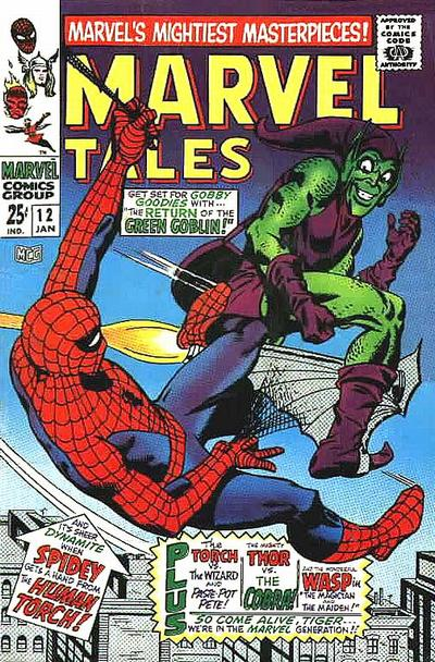 Cover for Marvel Tales (Marvel, 1966 series) #12