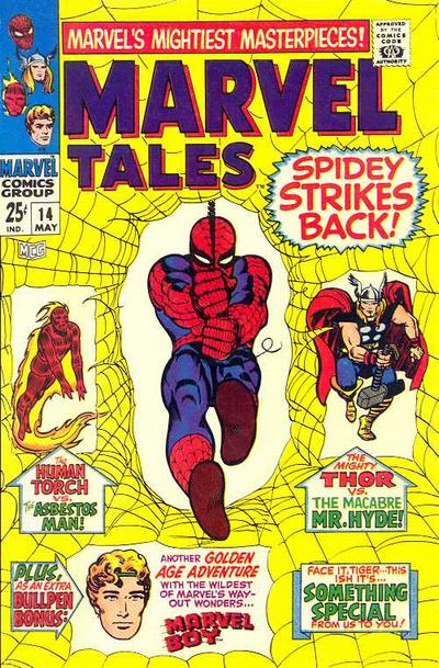 Cover for Marvel Tales (Marvel, 1966 series) #14