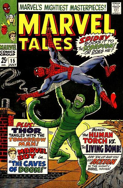 Cover for Marvel Tales (Marvel, 1966 series) #15