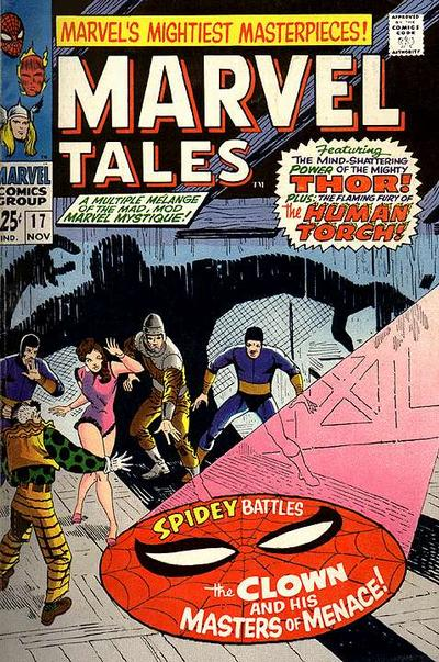 Cover for Marvel Tales (Marvel, 1966 series) #17