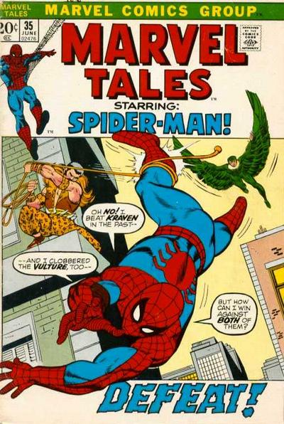 Cover for Marvel Tales (Marvel, 1966 series) #35