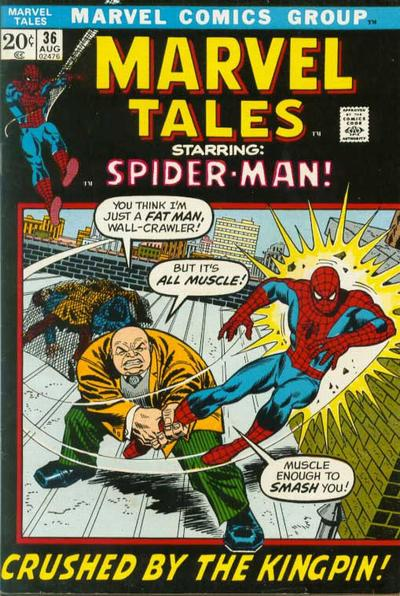 Cover for Marvel Tales (Marvel, 1966 series) #36
