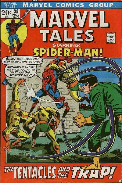 Cover for Marvel Tales (Marvel, 1966 series) #39