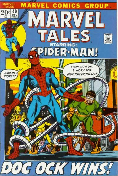 Cover for Marvel Tales (Marvel, 1966 series) #40