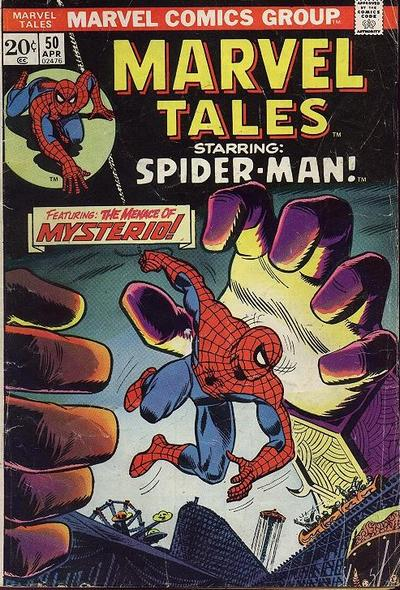 Cover for Marvel Tales (Marvel, 1966 series) #50