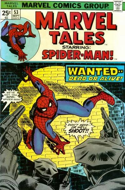 Cover for Marvel Tales (Marvel, 1966 series) #53