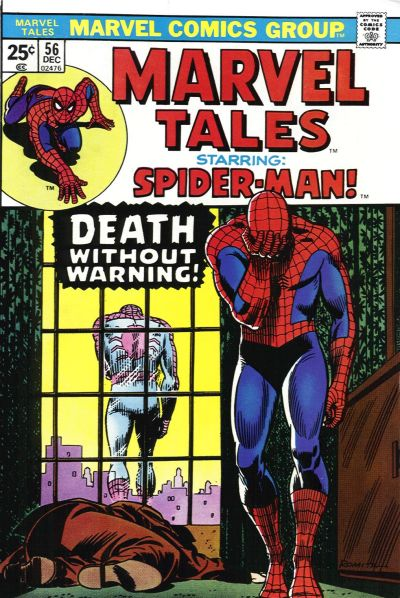 Cover for Marvel Tales (Marvel, 1966 series) #56