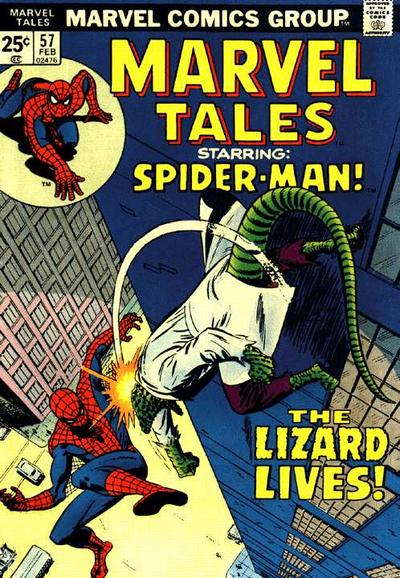 Cover for Marvel Tales (Marvel, 1966 series) #57
