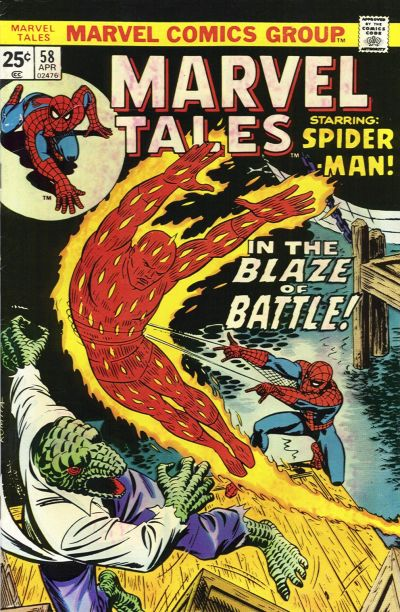 Cover for Marvel Tales (Marvel, 1966 series) #58