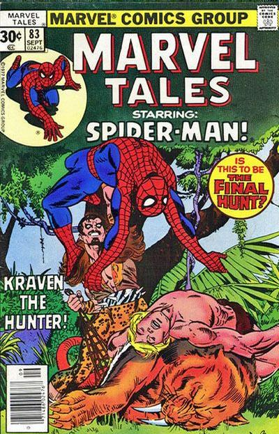 Cover for Marvel Tales (Marvel, 1966 series) #83