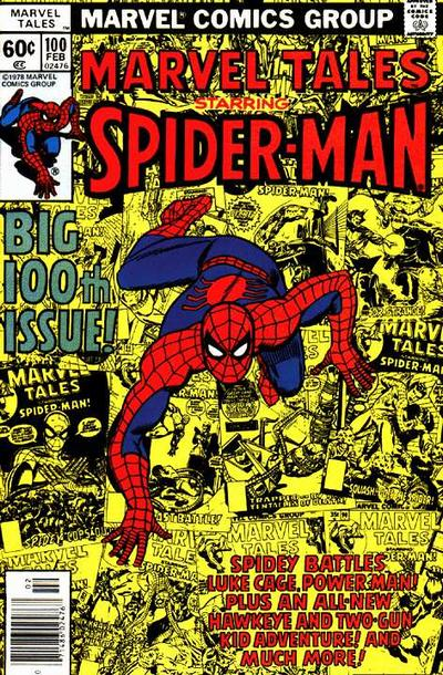 Cover for Marvel Tales (Marvel, 1966 series) #100