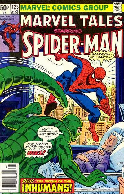 Cover for Marvel Tales (Marvel, 1966 series) #123