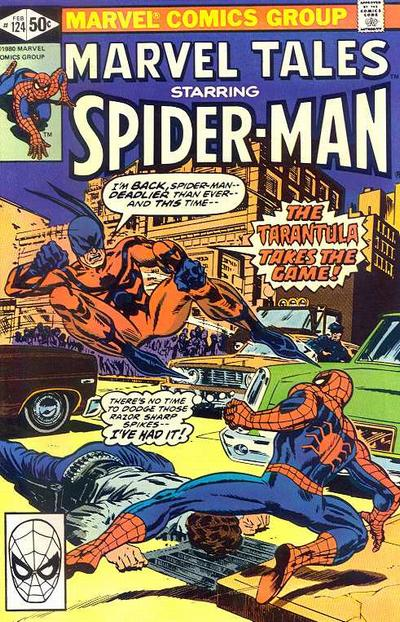 Cover for Marvel Tales (Marvel, 1966 series) #124