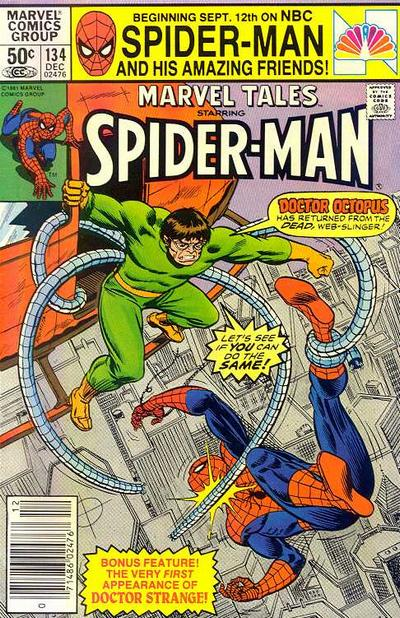 Cover for Marvel Tales (Marvel, 1966 series) #134