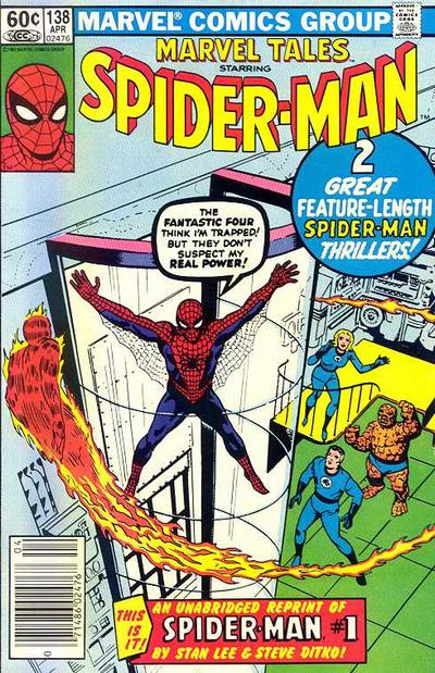 Cover for Marvel Tales (Marvel, 1966 series) #138 [Direct Edition]