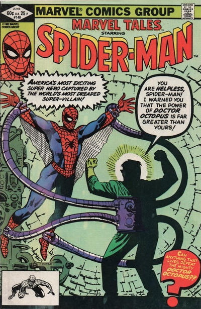 Cover for Marvel Tales (Marvel, 1966 series) #140