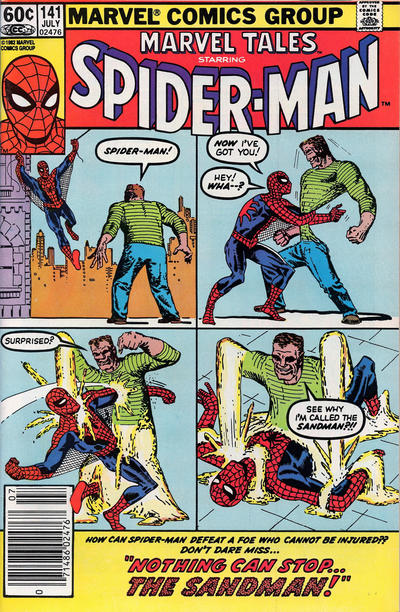 Cover for Marvel Tales (Marvel, 1966 series) #141 [Direct Edition]