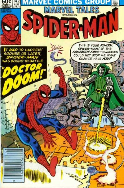 Cover for Marvel Tales (Marvel, 1966 series) #142