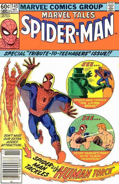Cover for Marvel Tales (Marvel, 1966 series) #145