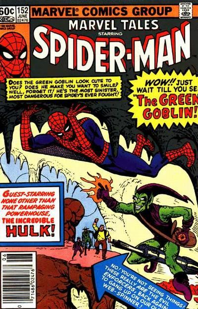 Cover for Marvel Tales (Marvel, 1966 series) #152