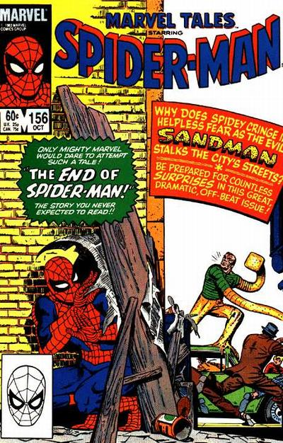 Cover for Marvel Tales (Marvel, 1966 series) #156