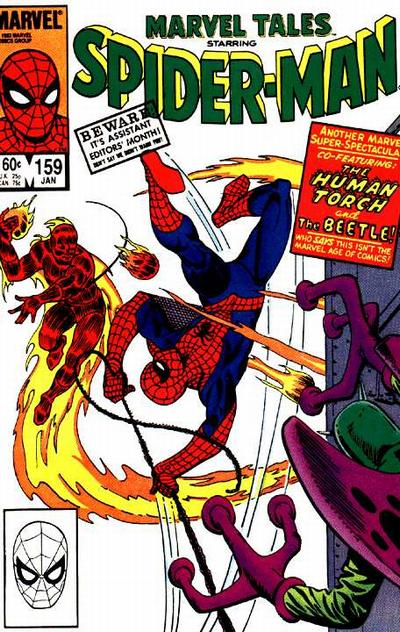 Cover for Marvel Tales (Marvel, 1966 series) #159 [Canadian]