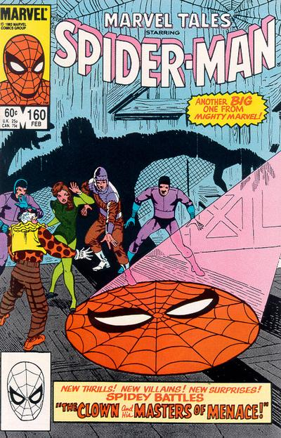 Cover for Marvel Tales (Marvel, 1966 series) #160 [Direct]